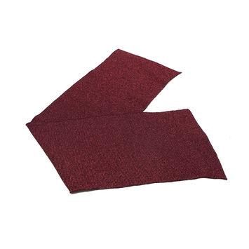"""Maroon Sparkle Rib Knit Trim 7"""" x 29""""-121033-10"""