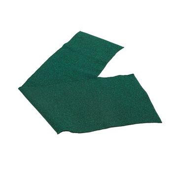 "Dark Green Sparkle Rib Knit Trim 7"" x 29""-121034-10"