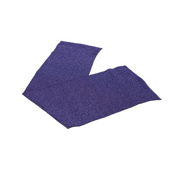 "Purple Sparkle Rib Knit Trim 7"" x 29""-121039-10"
