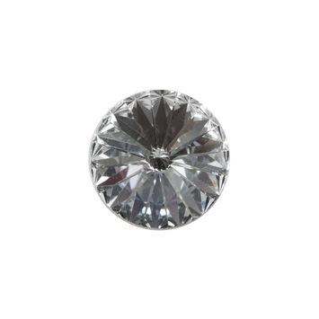Swarovski Crystal Shank Back Button 30L/19mm-121218-10