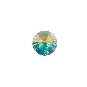 Swarovski Iridescent Crystal Shank Back Button 18L/11.5mm-121224-10
