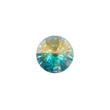 Swarovski Iridescent Crystal Shank Back Button 20L/12.5mm-121225-10