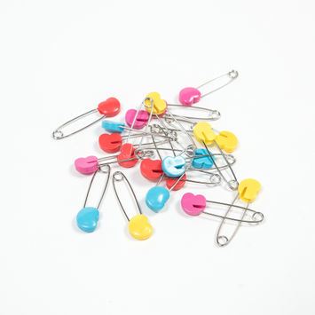 Ever Sewn Safety Pins with Hearts 20 Count-121329-10