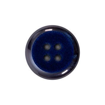 Italian Navy 4-Hole Velvet-Faced Plastic Button 36L/23mm-123321-10