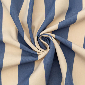 Denim Awning Striped Polyester Woven-124597-10