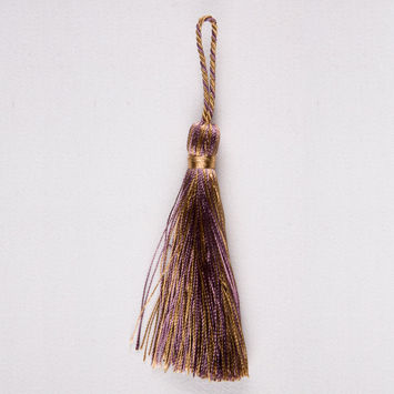 3.5 Brown Plum Basic Tassel