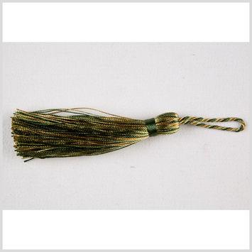 3.5 Hunter Green Multi Basic Tassel