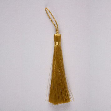3.5 Metallic Gold Basic Tassel