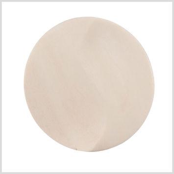 Natural Wood Button - 54L/34mm