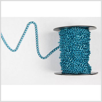 3/16 Blue Aluminum Metal Chain