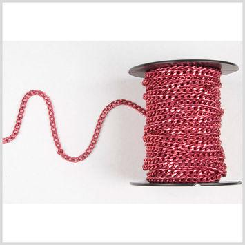 3/16 Pink Aluminum Metal Chain
