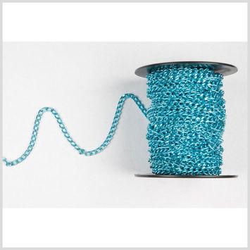 3/16 Turquoise Aluminum Metal Chain