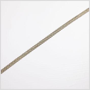 Antique Gold Sage Metallic Braid