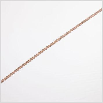 Pale Pink/Gold Metallic Braid