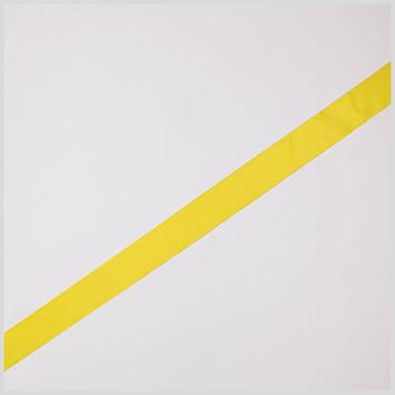 Deep Yellow Wired Edge Ribbon