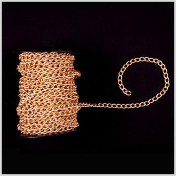 3/8 Gold Aluminum Metal Chain