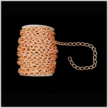 1/2 Gold Aluminum Metal Chain