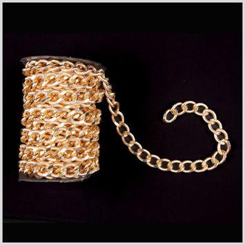 Gold Aluminum Metal Chain