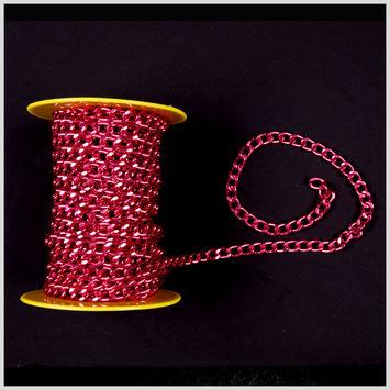 Red Aluminum Metal Chain