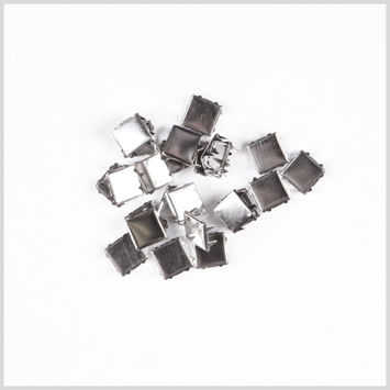 1/2 Silver Flat Naildheads