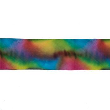 Rainbow Dyed Silk Ribbon - 3.875