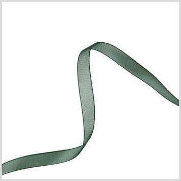3/8 Hunter Organza Ribbon