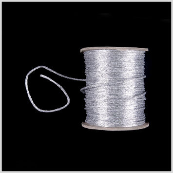 Silver Metallic Wire Cord