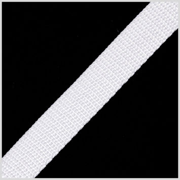 .75 White Nylon Webbing