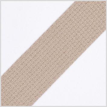 Beige Cotton Webbing - 1.5