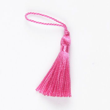 Fuschia Basic Tassel - 2