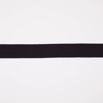 Black Cotton Webbing - 1.5