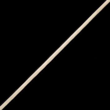 Off-White Double Face Velvet Ribbon - 1/8