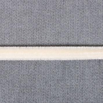 Ivory Velvet Cord - 1/8