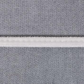 Light Gray Velvet Cord - 1/8