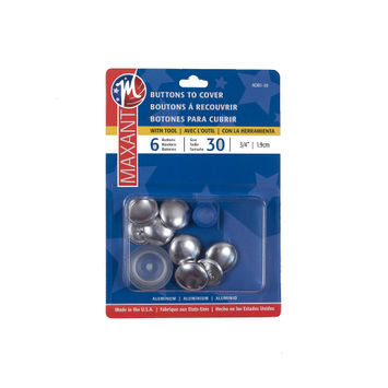 Maxant 6 Button Cover Kit - 30 - 0.75