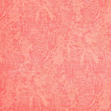 Liberty of London Portsea Bittersweet Red Silk-Cotton Voile