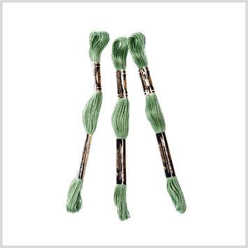 3-Pack DMC Size 6 Embroidery Floss #320 Medium Pistachio Green