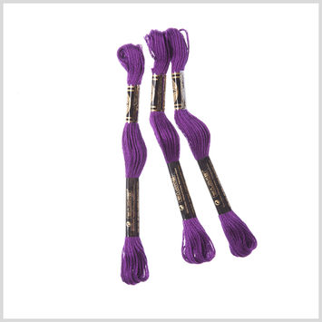 3-Pack DMC Size 6 Embroidery Floss #550 Pansy