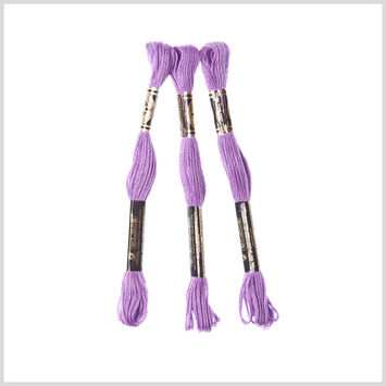 3-Pack DMC Size 6 Embroidery Floss #553 Violet