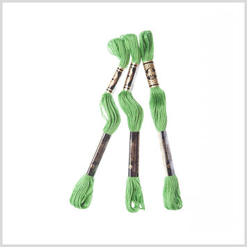 3-Pack DMC Size 6 Embroidery Floss #702 Kelly Green