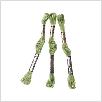 3-Pack DMC Size 6 Embroidery Floss #3347 Foliage