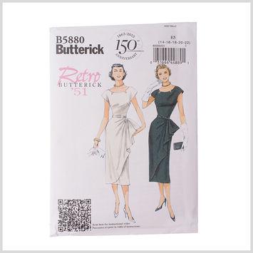Butterick Petite Dress and Belt Pattern B5880 Size E5