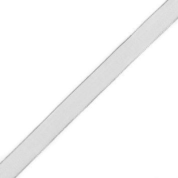 Silver Wire-Edge Ribbon - 1