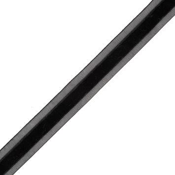 Black Velvet and Sheer Ribbon - 0.625