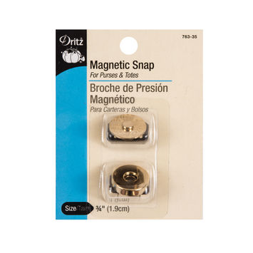 Dritz 3/4 Gold Magnetic Snaps
