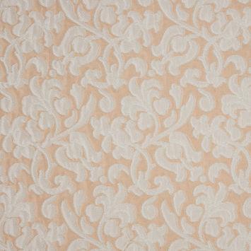 Eggnog/Almond Cream Floral Brocade