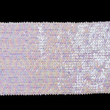 Purple Stretch Iridescent Sequin Trimming - 10