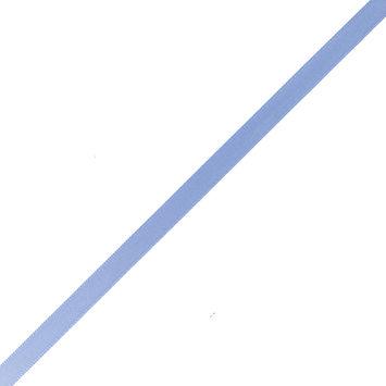 Sky Blue Double Faced Satin Ribbon - 0.25