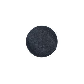 Black Silk Covered Button 24L/15mm-312368-10