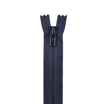 Dark Navy Plastic Chain Zipper - 7